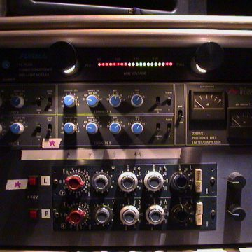 Neve Compressor and Pre Amps
